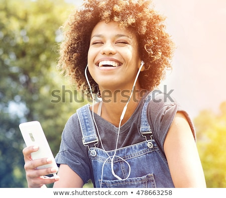 Teenagers sitting on grass Stock photo © photography33
