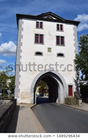 famous bridge gate in Limburg Stock photo © meinzahn