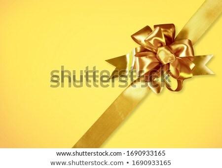 Wakacje złoty łuk kopia przestrzeń tekstury streszczenie Zdjęcia stock © illustrart