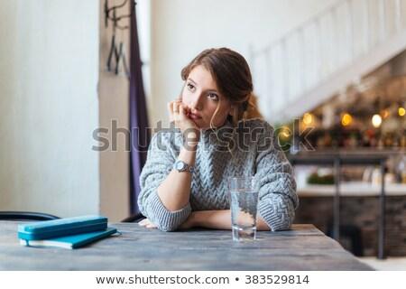 Woman waiting Stock photo © hlehnerer