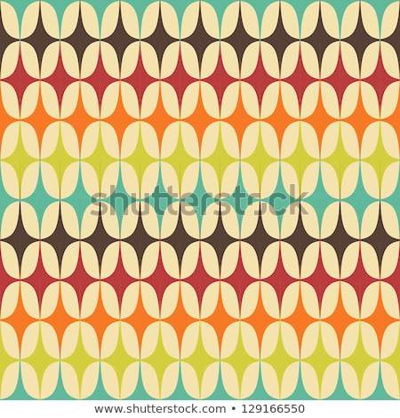 Seamless retro pattern Stock photo © Elmiko