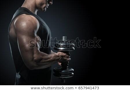 соответствовать мышечный парень здорового красивый Сток-фото © curaphotography