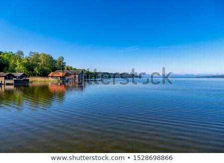 озеро мнение коттедж посадка этап небе Сток-фото © w20er