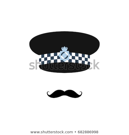 hat of a police man in London Stock photo © magann