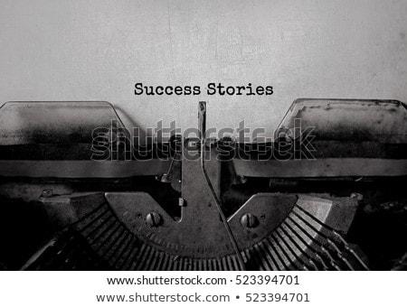 青 成功 キーパッド キーボード ノートパソコンのキーボード ホット ストックフォト © tashatuvango