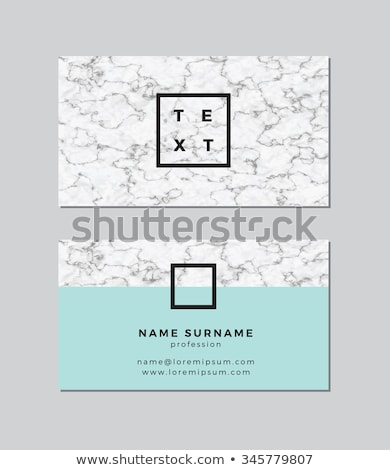 modern business card in marble style texture Stock photo © SArts