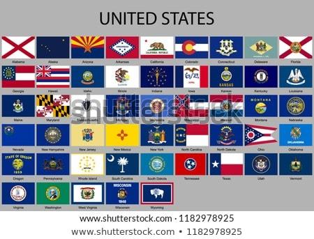 Flag of the state of Missouri  Stock photo © grafvision