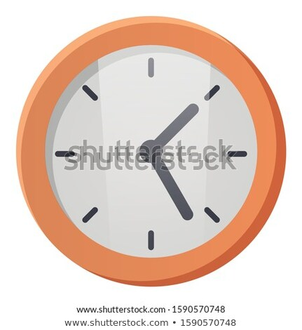 Simple Wall Clock, Instrument to Indicate Time Stock photo © robuart