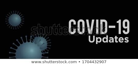 covid19 coronavirus news and updates banner design Stock photo © SArts