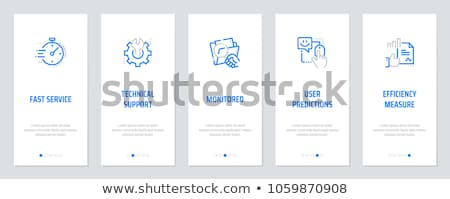 Tech support vector concept metaphor Stock photo © RAStudio