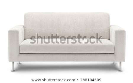 Couple on white sofa Stock photo © photography33