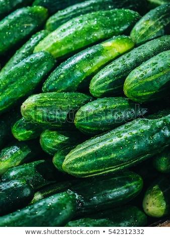 świeże · zielone · makro · rynku · zewnątrz - zdjęcia stock © juniart