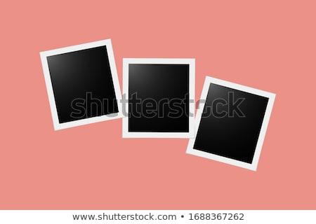 öreg · üres · fotók · fotó · keret · izolált - stock fotó © nickylarson974