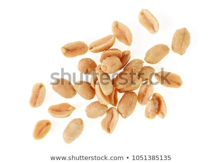 amendoins · branco · azul · nozes - foto stock © klinker