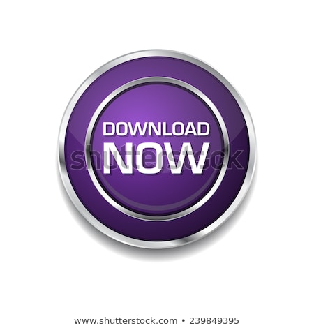 download now purple circular vector button stock photo © rizwanali3d