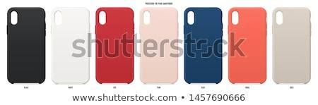 Cover case for mobile phone Stock photo © ozaiachin