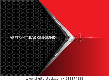 Stock photo: metalic arrow black