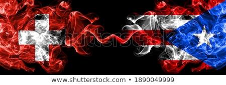 Zwitserland Puerto Rico vlaggen puzzel geïsoleerd witte Stockfoto © Istanbul2009