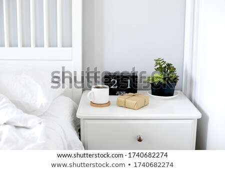 a newspaper on a wooden desk   lifestyle and fashion stock photo © zerbor
