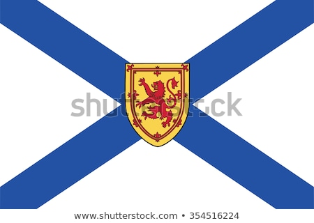 Flag of Nova Scotia Stock photo © Lom