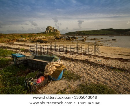 Porth Hellick beach, St. Mary's Isles of Scilly. Stock photo © latent