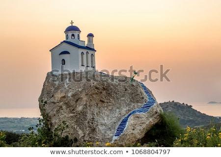 Mountainous Zia village Stock photo © luissantos84
