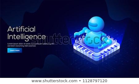 Technologii wektora izometryczny ilustracja nowoczesne Zdjęcia stock © RAStudio