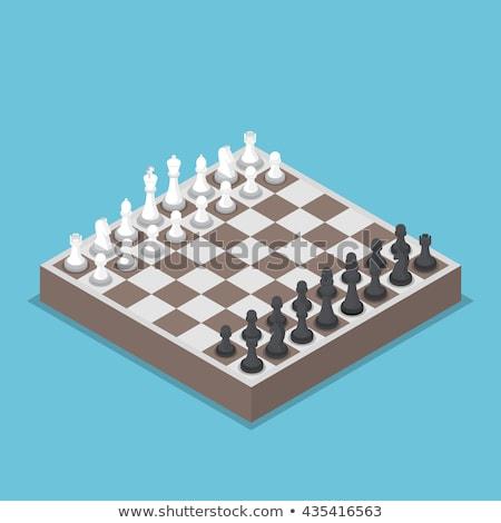 Cartoon ajedrez caballero idea ilustración Foto stock © cthoman