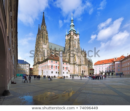 majestic st vitus cathedral stock photo © givaga