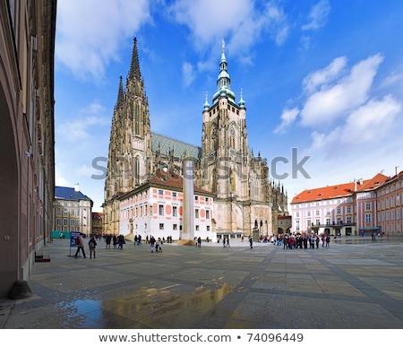 Majestueus kathedraal brug Praag gebouw zomer Stockfoto © Givaga