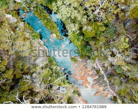 水 穴 楽園 美しい スイミング スポット ストックフォト © lovleah