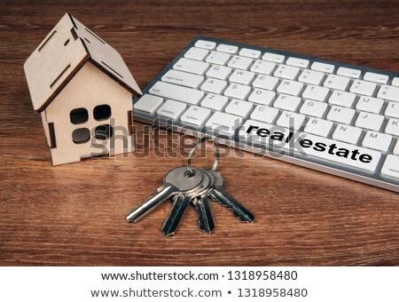 affitto · chiave · tastiera · significato - foto d'archivio © mizar_21984