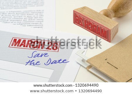 Rojo sello documento 26 negocios Trabajo Foto stock © Zerbor
