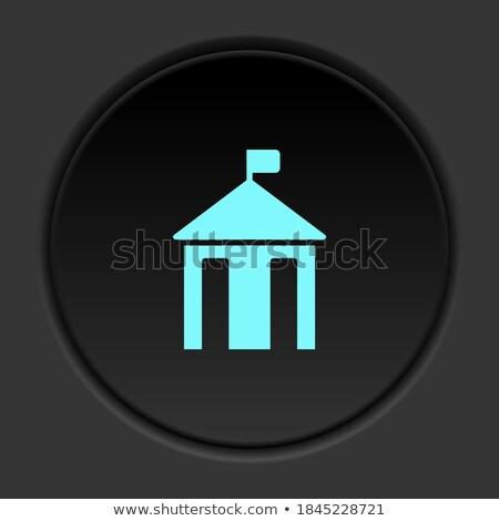 Wektora starych typu budynku kolorowy ilustracja Zdjęcia stock © karetniy