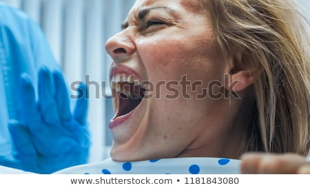 Laborer screaming Stock photo © photography33