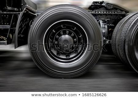 haul truck wheel Stock photo © prill