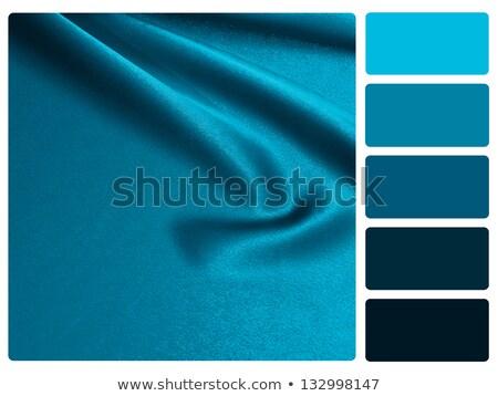 Blue satin colour palette swatch Stock photo © REDPIXEL