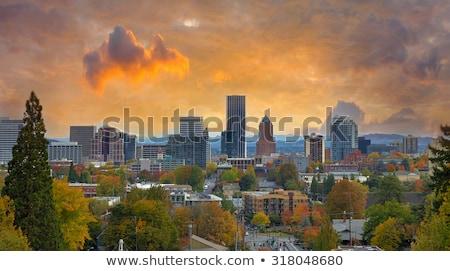 オレゴン州 市 パノラマ ストックフォト © Rigucci