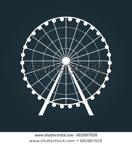 Icon big wheel Stock photo © zzve