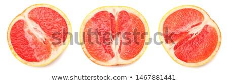 закуска грейпфрут продовольствие завтрак столовой еды Сток-фото © M-studio