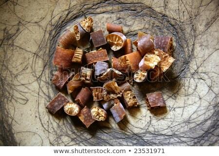 Suszy wodorost naturalnych odżywianie składniki streszczenie Zdjęcia stock © lunamarina