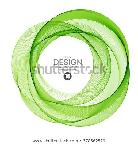 Stock fotó: Zöld · fraktál · elrendezés · 3D · absztrakt · konzerv
