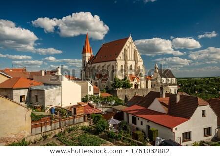 Stock photo: vineyards, Southern Moravia, Czech Republic