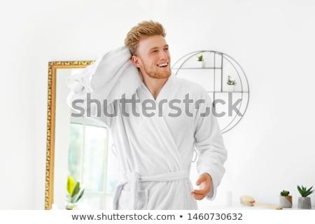 男 髪 シャワー ファッション 健康 美 ストックフォト © meinzahn