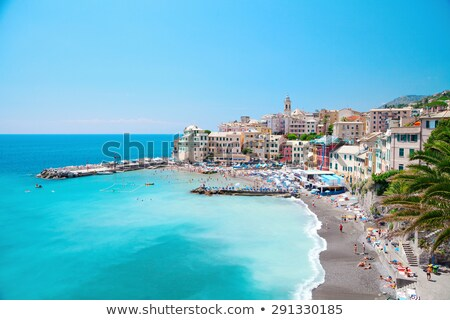 Beautiful view of Genova, Italy Stock photo © tannjuska