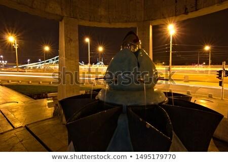Porcelana ciemne noc świetle efekt biały Zdjęcia stock © jonnysek