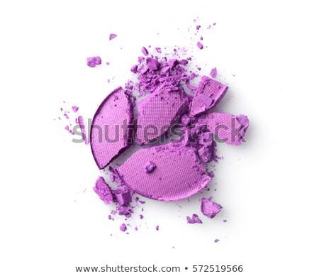 violet or purple eyeshadow makeup background Stock photo © FrameAngel