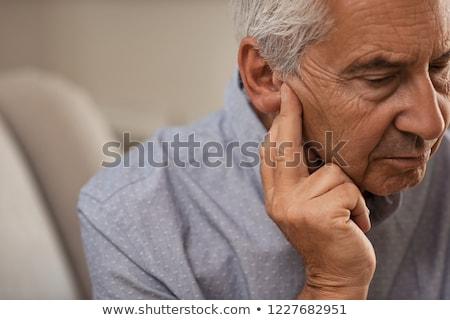 loss of hearing Stock photo © flipfine