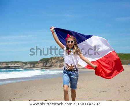 Francês ilustração livro escolas fundo caderno Foto stock © adrenalina