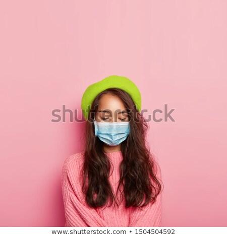 fashionbale brunette woman stock photo © lithian